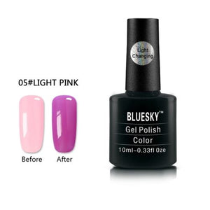 005 - Bluesky LIGHT COLOUR CHANGE UV/LED - Gel Nail Polish 10ml