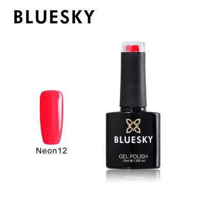 Neon 12 Bluesky - Shocking Pink Gel 10ml