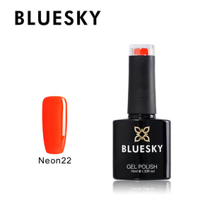 BLUESKY Neon 22 - Burlesque with Top and Base Set 3 x 10ml