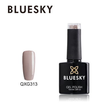 QXG 313 Bluesky Gel NUDE Collection SATIN ROBE UV/LED Soak Off Gel Nail Polish