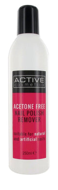 Active Nailcare System Acetone Free Nail Polish Remover (250ml)