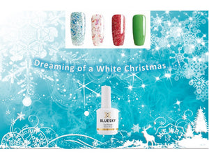 White Xmas Set One  4x15ml plus FREE 2x10ml