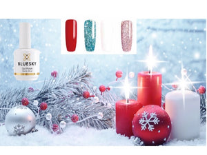 White Xmas Set Two  4x15ml plus FREE 2x10ml