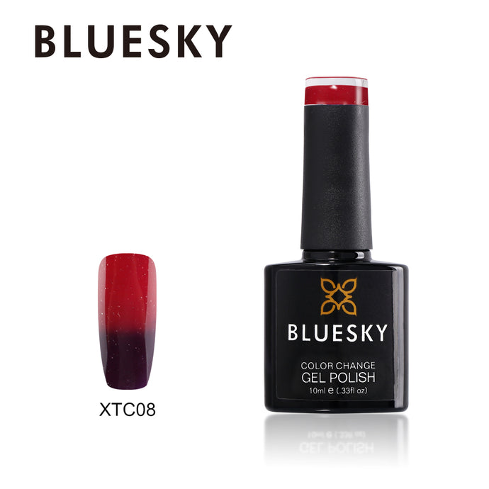 bluesky XTC08 COLOUR CHANGE UV LED GEL POLISH 10ml