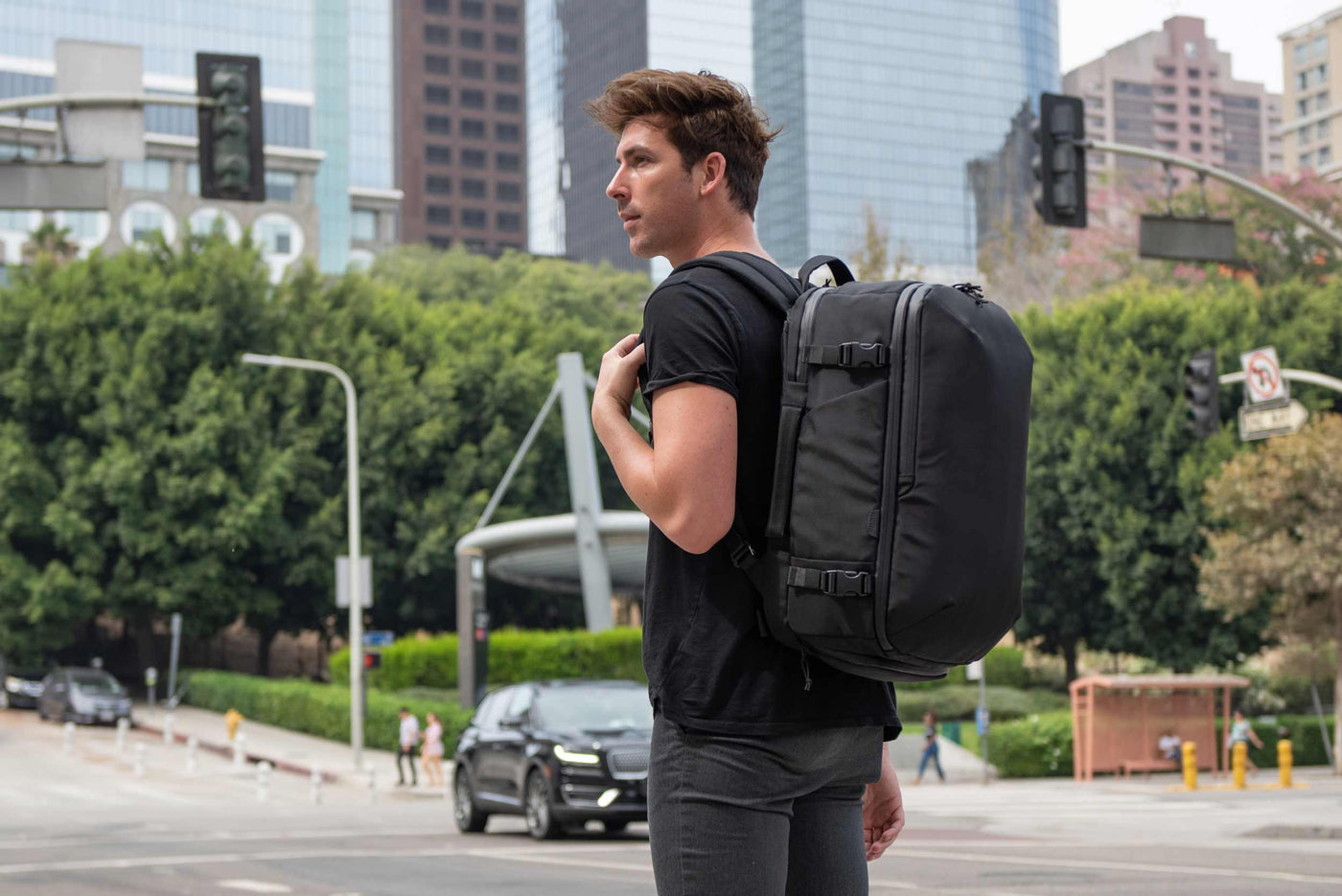 TRMNL Travel Pack - The All-In-One Travel Backpack for the Modern Professional