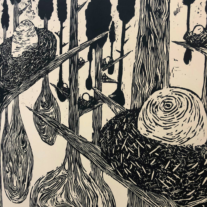 9.09.19 Introducing Woodcut Prints