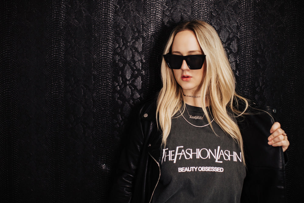 The Fashion Lashin Beauty Obsessed Tee