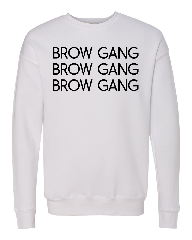 BROW GANG CREW SWEATSHIRT