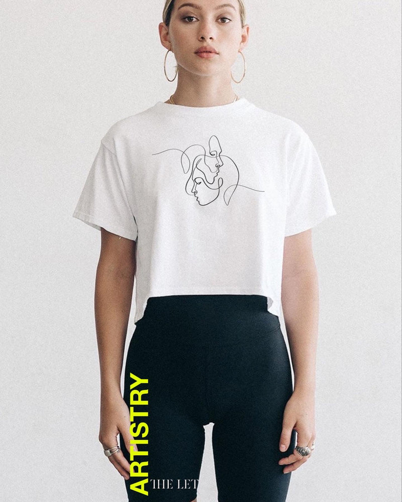 'CONTESTANT' Cropped Tee