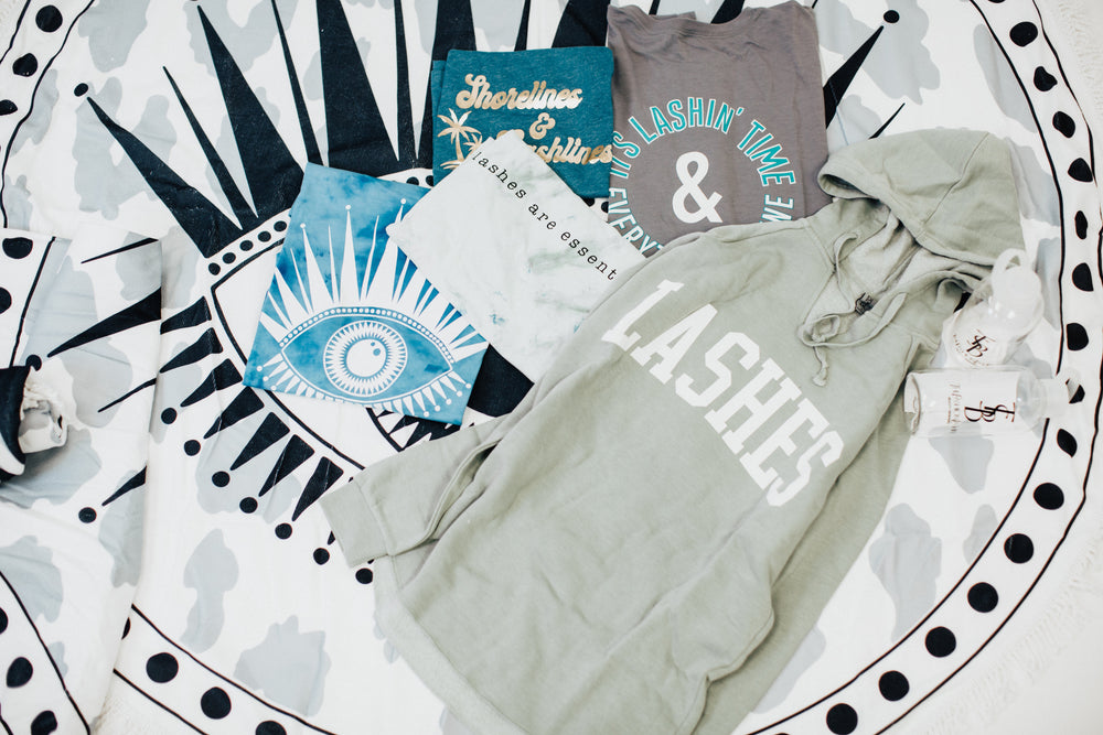 Shoreline & Lashlines X SUMMER co.