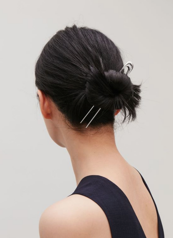 Minimalist Hair Accessory Trends I am digging and trying