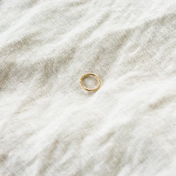 Seamless Nose Ring / Cartilage Ring - Sterling Silver or Solid Gold