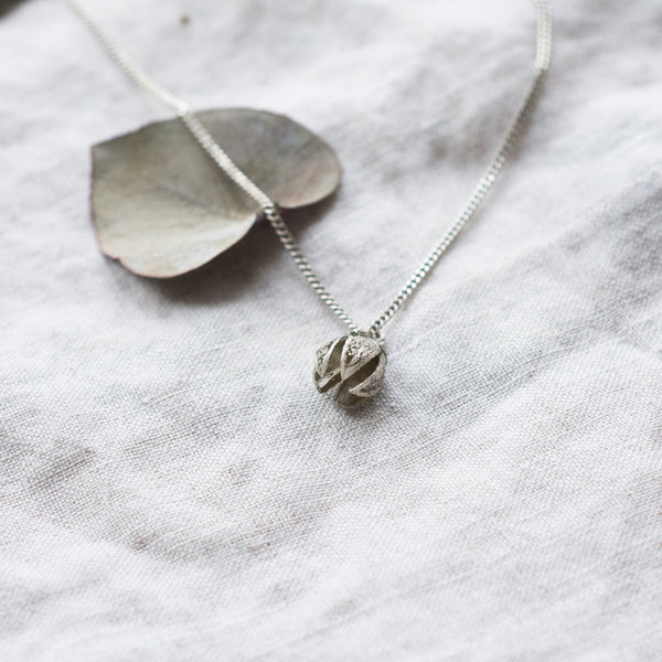 'Courtney' Seed Pod Necklace