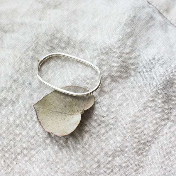 Oval Ring - for 2 fingers