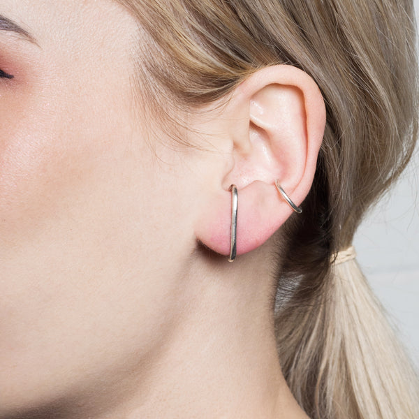 Staple Stud Earrings