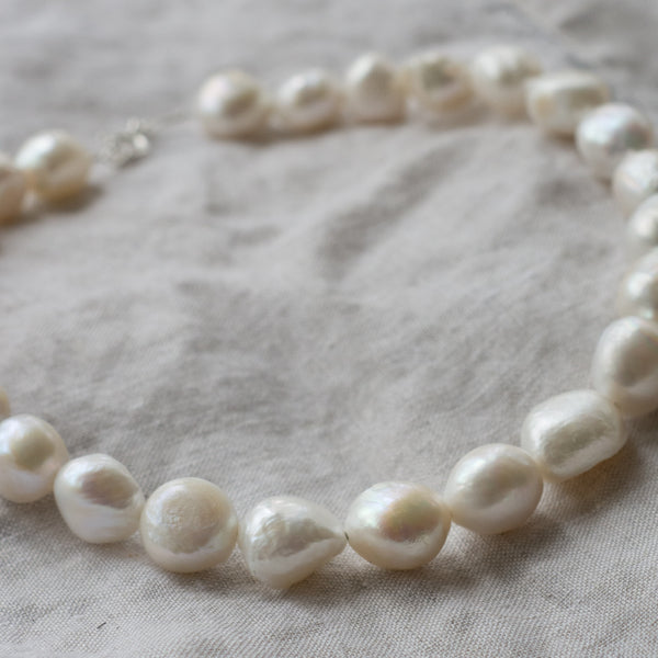 Freshwater Baroque Pearl Choker Necklace