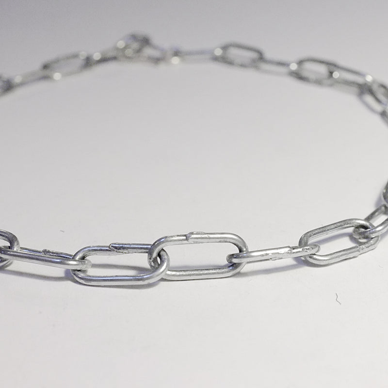 'Debbie' Salvaged Steel Chain Choker Necklace