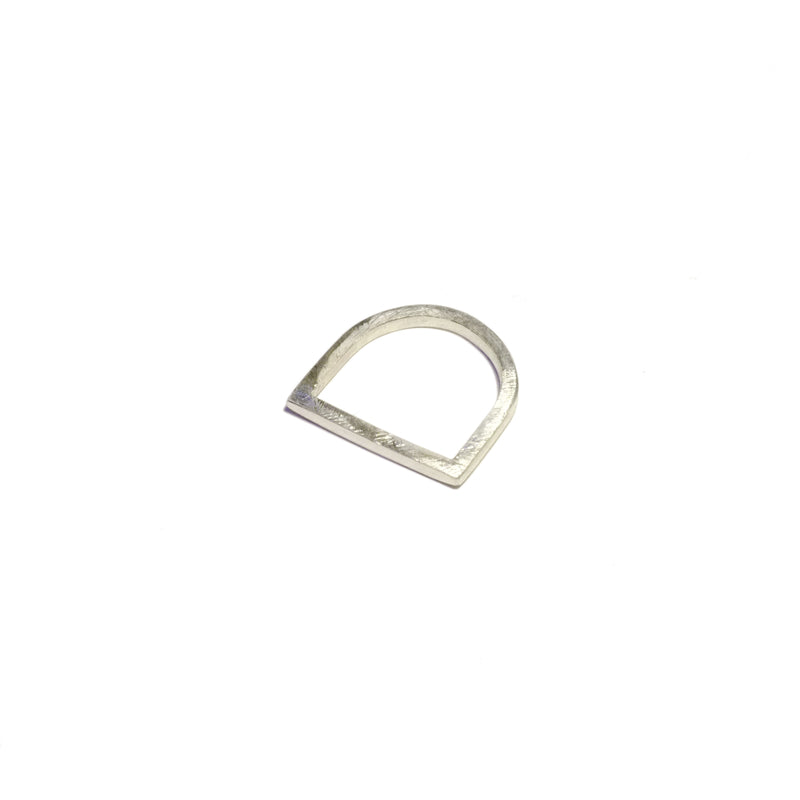 'Twiggy' Flat Top Ring