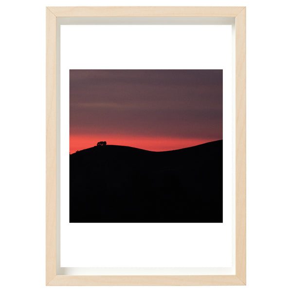 Bushfire Relief Art Print Series - Cudlee Creek Fireground - The last light of Christmas Eve, 2019 *DIGITAL DOWNLOAD*
