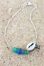 Load image into Gallery viewer, Sea Glass Anklet