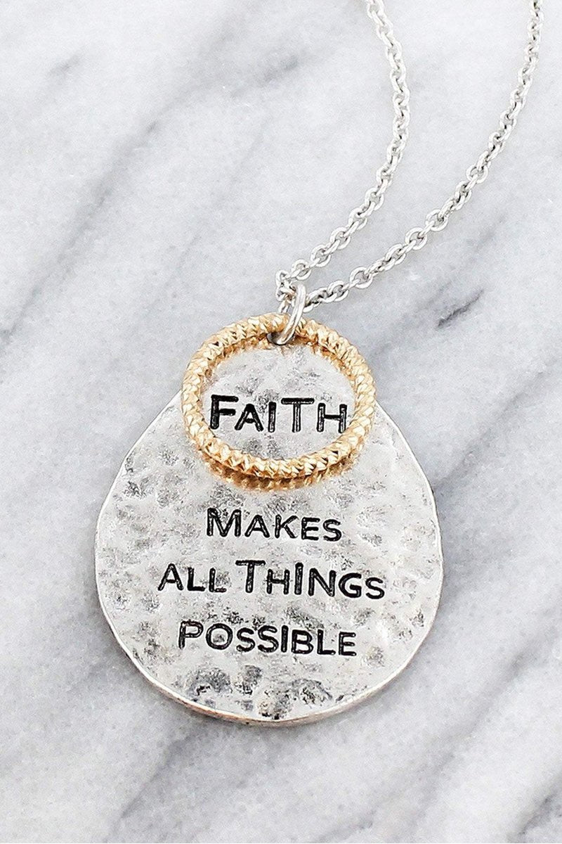 All Things Possible Necklace