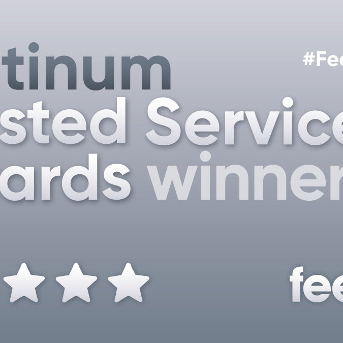 Not Another Bunch Of Flowers Awarded Feefo's New Platinum Service Award