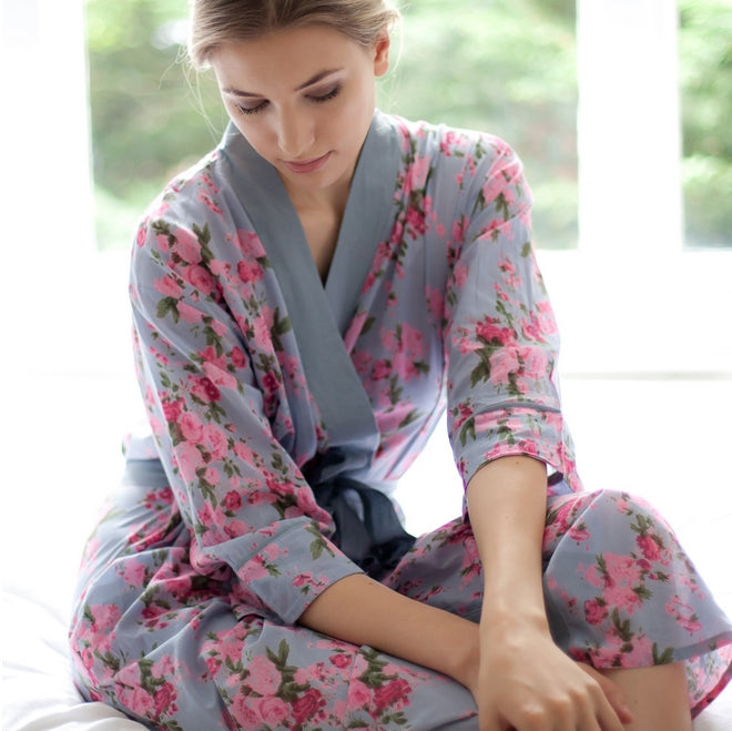 Lightweight, Cotton Nightwear - A Great Gift For Someone In Hospital, Facing Surgery, Or Recuperating At Home