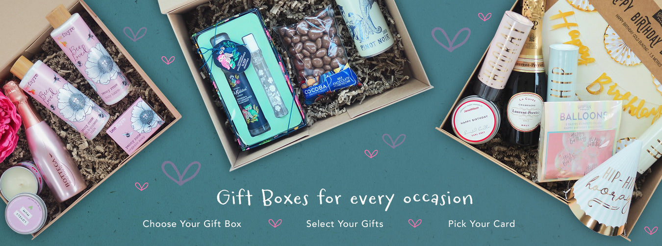 Build Your Own Care Package Gift Box