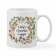 Christmas Personalised Festive Jolly Bright Mug