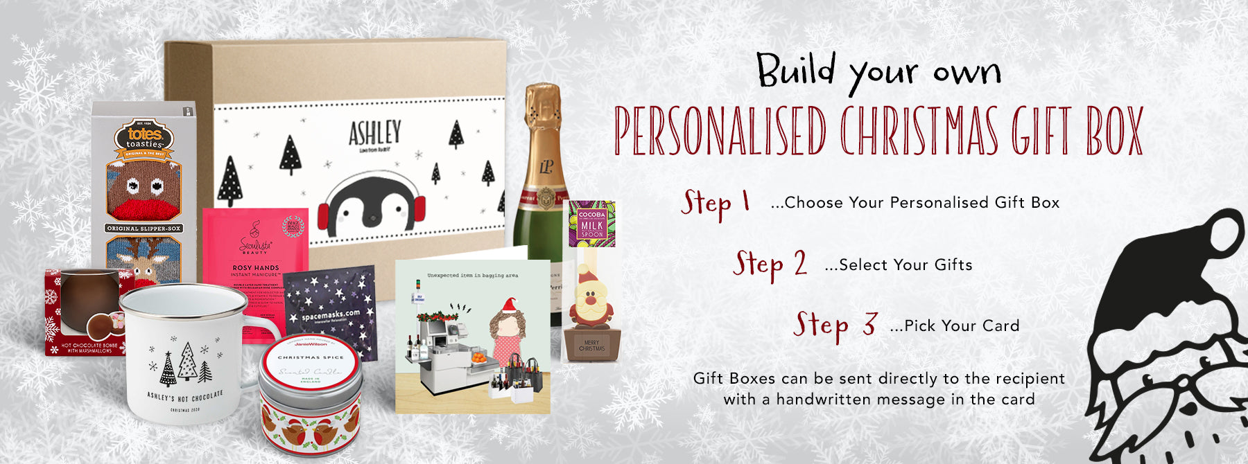 Build A Christmas Gift Box