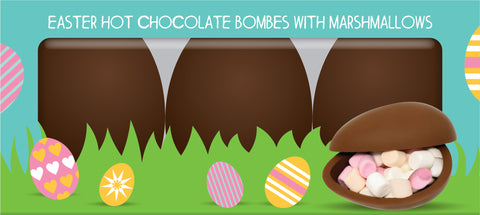 Easter Hot Chocolate Bombe
