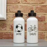 Men's Boy's Personalised Water Bottle