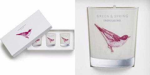 luxury candle gift set