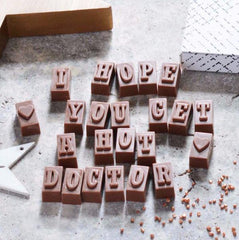 I hope you get a hot doctor Belgian Chocolate Message
