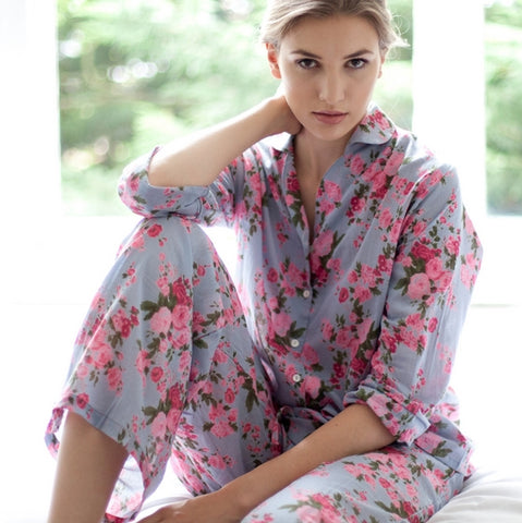 Vintage Rose Cotton Pyjamas