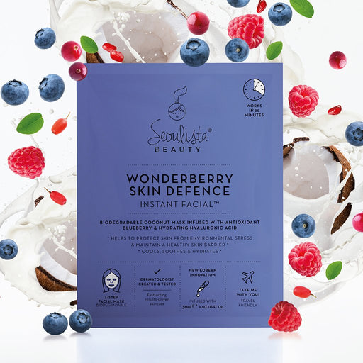 Seoulista Wonderberry Skin Defence Instant Facial
