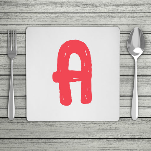 Bright & Bubbly Initial Placemat