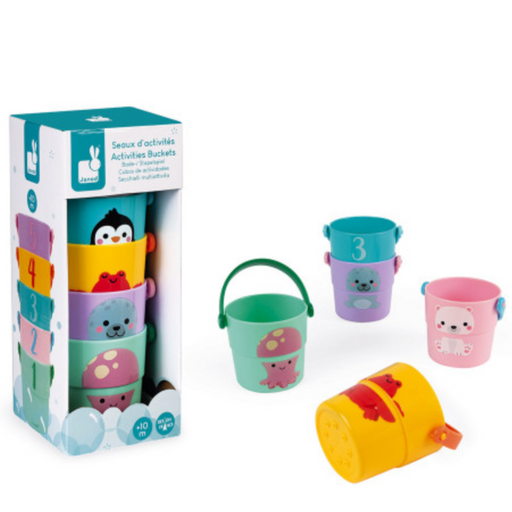 Bath Activity Buckets