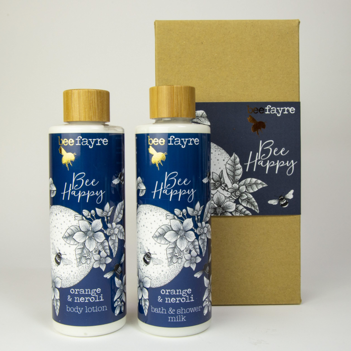 Bee Happy Bath And Body Set