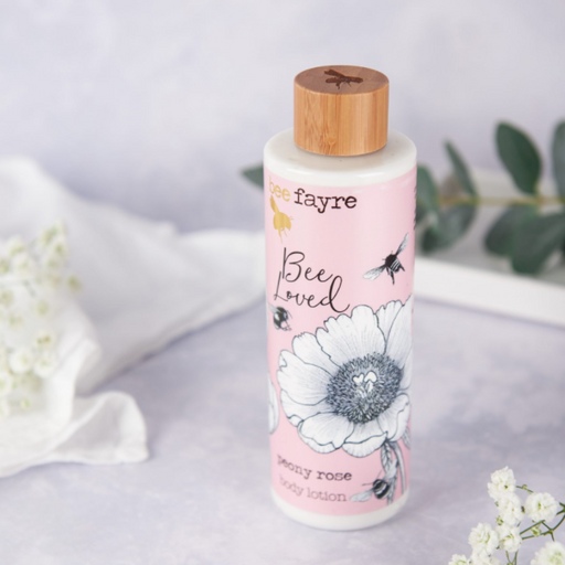 Beefayre Bee Loved Peony Rose Body Lotion