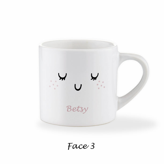 Children's Personalised Sleepy Eye Lashes Mug