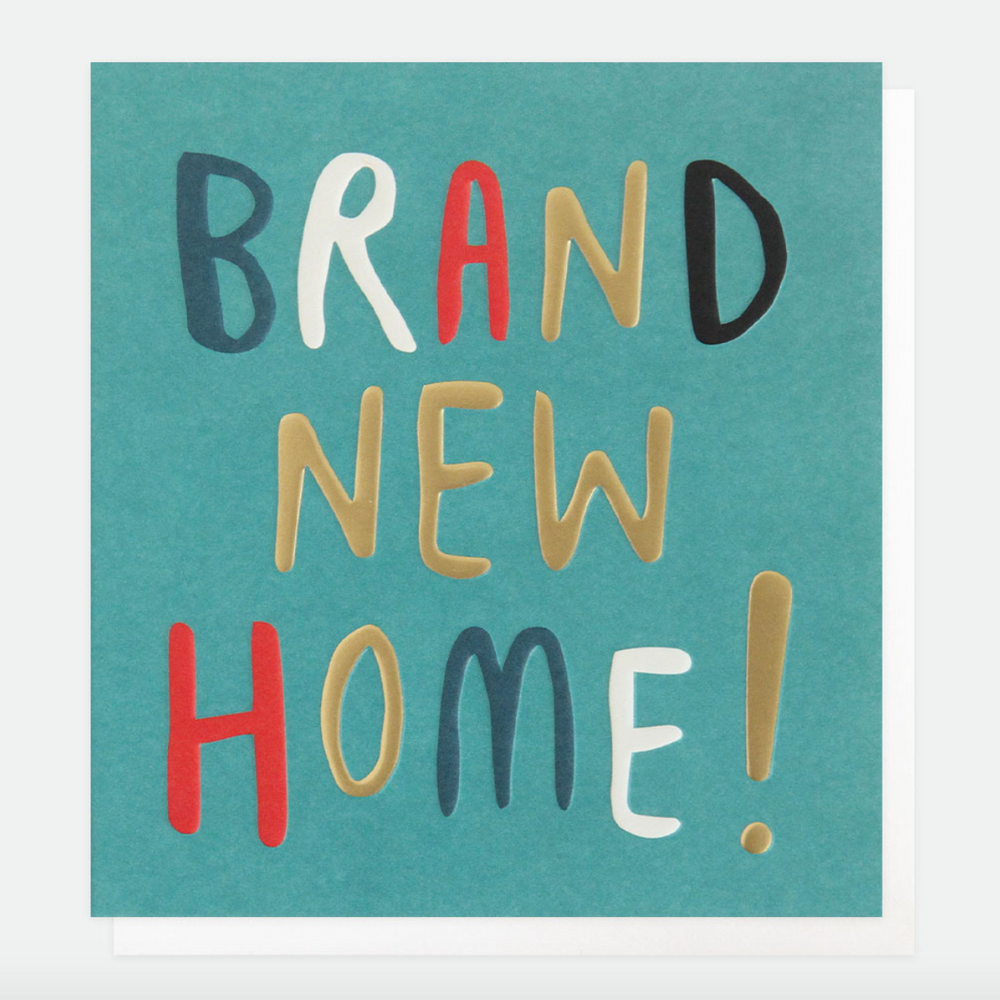 Caroline Gardner Brand New Home Card