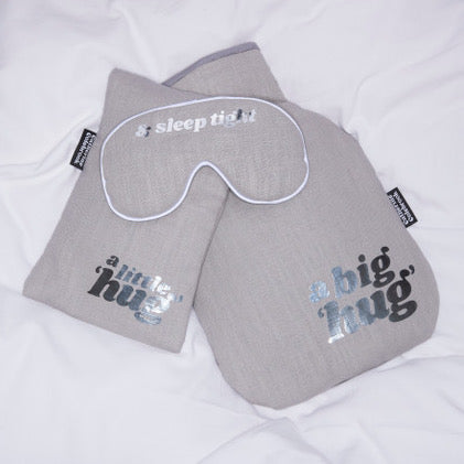 Catherine Colebrook Eye Mask and Hot Water Bottles, Sleep Tight Eye Mask