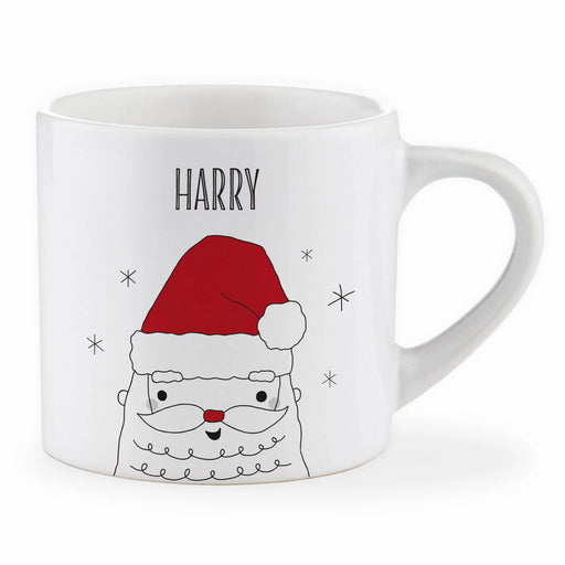 Personalised Child Father Christmas Mug