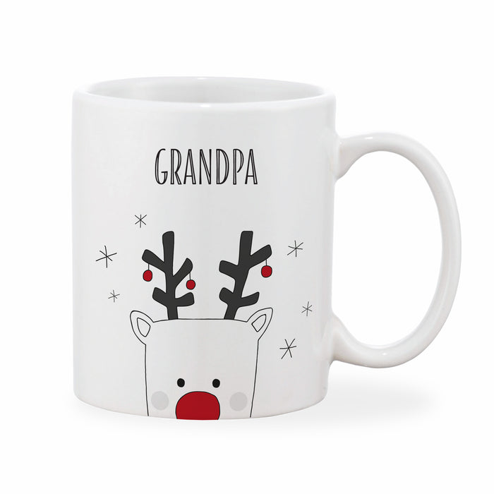 Personalised Reindeer Mug