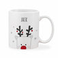 Personalised Adult Christmas Rudolph Mug