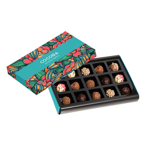 Cocoba 15 Assorted Luxury Truffles