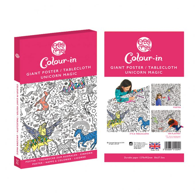 Colour-In Giant Poster - Various Designs