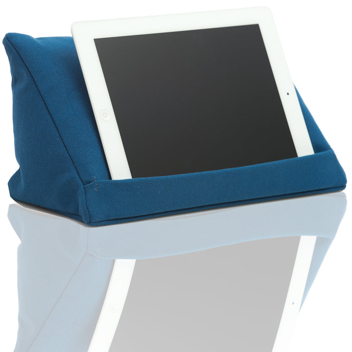 Coz-E-Reader Huggable Tablet Stand - Blue Denim