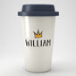 Personalised Crown Eco Travel Mug